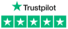 TrustPilot five-star rating