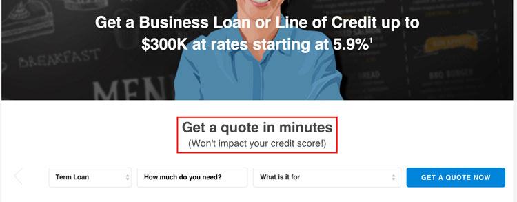 (Won't impact your credit score!)