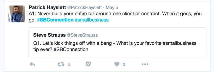 Steve Strauss Tweet