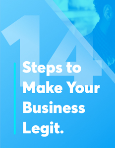 The 14-Step Checklist for Making Your Business Legit