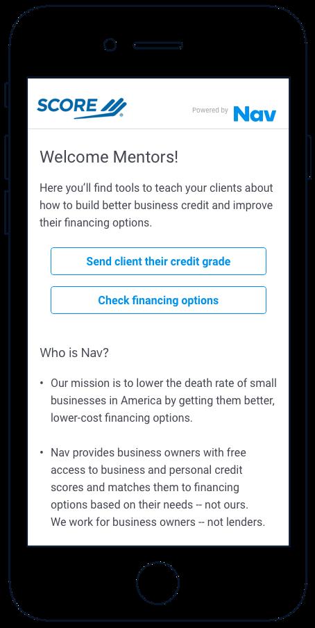 SCORE Advisor App