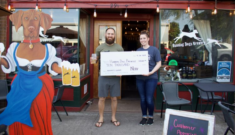 Meet Running Dogs Brewery: Nav's $10,000 Small Business Grant Winner