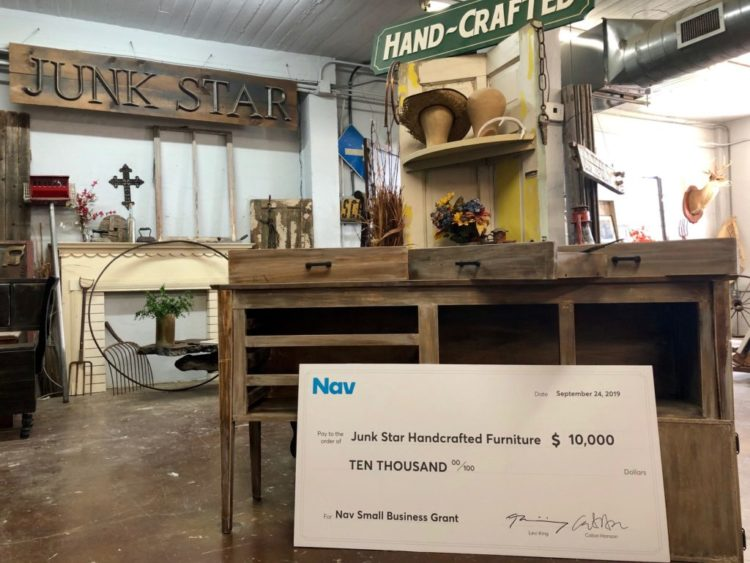Nav Awards $10,000 Small Business Grant to Custom Furniture Maker