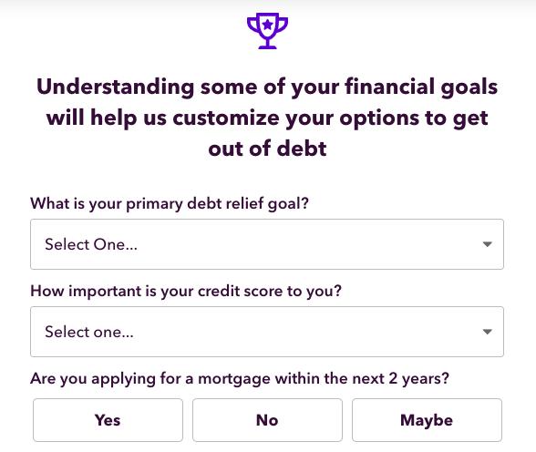 debt assessment questions
