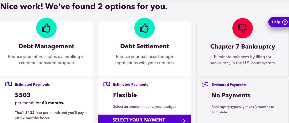 debt options