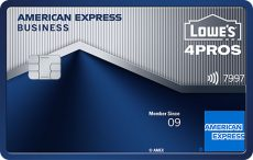 Lowe's Business Rewards Card fromAmericanExpress
